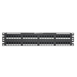 "Патч-панель 19"", 48хRJ45, кат.5E (Panduit DP485E88TGY) (черный)"